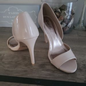 Qupid Shoes - Nude heels